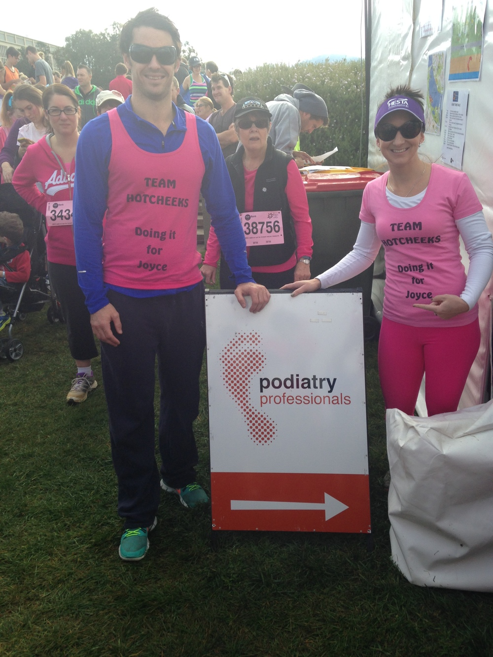 Matthew and Rebecca on behalf of Podiatry Professionals
